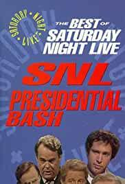 Saturday Night Live: Presidential Bash